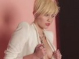 Miley Cyrus Tit Flash On Set