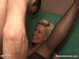 Dirty Wife Gets Fucked And Gives Blowjob With Cream