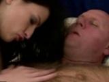 Lovely Teen Enjoys Nasty Sex With Grandpa