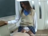 Strapon girls ass fuck a school teacher