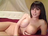 Big tit babe with whipped cream