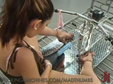 Kinky Chick Wet Pussy Masturbation With Fucking Machine