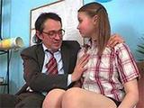 Tricky Professor Convinced Naive Girl To Fuck For Grade