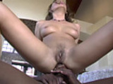 Mandy bright interracial anal  sex