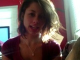 Sweet amateur teen girlfriend gives an awesome blowjob