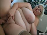 Huge woman slut gets fucked hard
