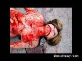 Busty Girl Knifed To Death In Bloodbath - Hardcore Videos