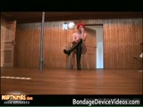 Chubby redhead babe gets bound and spanked 7 by bondagedevicevideos
