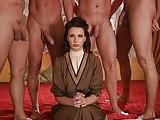 Four men fuck a lady