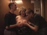 Big Boobs Mature Blowjob In The Lift