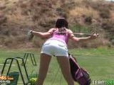Golf Milf Karina OReilley Horny For A Hard Pussy Clubbing And Facial