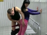Sweet Brunette Fucked Hard In The Lockers room2