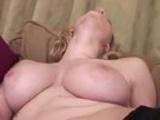 Busty Blonde Fingering Herself