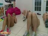 Sexy Girls Group Lesbian Fun