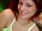 Cute teen red head