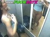 Voyeur upskirt babe naked in the dressing
