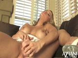 Milf Shoves A Big Toy Into Her Tight Pussy