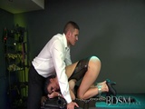 Bdsm Xxx Sub Gets So Wet When Chained Up And Dominated By Her Master