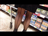 My new black stockings