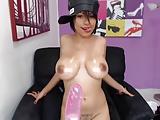 Hot Latina With Big Boobs