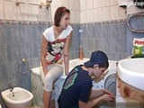 Lonely Teen Girl Meets The Maniac Repairman