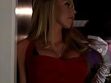 Hot blonde in theater sex scene