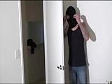 Robber has fun