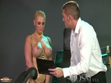 BDSM XXX Big Breasted Sub Has Her Hole Filled By Strong Dominant Master