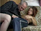 Mature teacher exploited  a young girl - amateur video