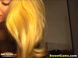Gorgeous Blonde Hottie Masturbating