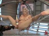 New Blonde MachineFucked Pussy