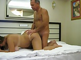 Vacation fuck with wife in hotel room