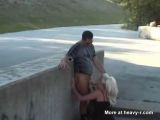 Blowjob In Public - Curious Videos