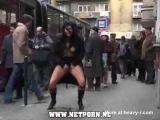 Public Pissing In Busy Street - Bizarre Videos