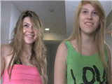 Amateur Threesome With Two Lovely Girls 18 Years Old