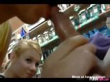 2 Teens Suck Off A Guy In A Store - Amateur Videos