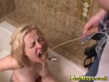 Slut Drenched In Piss - Blonde Videos