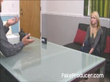 FakeProducer Casting Tiny Blonde Cutie Chloe Foster