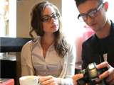 Young cute nerdy girl getting unplanned sex