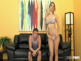 Natalia Starr Gets A Cock To Play With In A Live Show