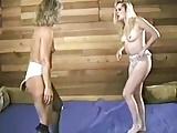 Blonde vs Blonde Catfight