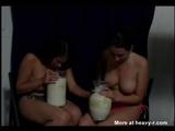 Topless Girls Puking - Vomit Videos