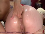 Lezdom Punishes Hot Anal Lovers