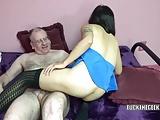 Asian housewife Yuka Ozaki gets stuffed with a stiff cock