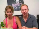Hot milf sucks dick