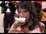 Eating Cum Pizza - Cumshots Videos