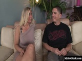 Devon Lee is a drop dead, gorgeous, blonde haired MILF who happens to