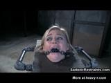 Sadistic Maniac Degrading Restrained Girl - Restraint Videos