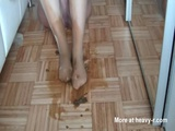 Smearing Her Shit On Her Nylons - Feet Videos
