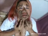 Messy Asian Scat Student - Amateur Videos